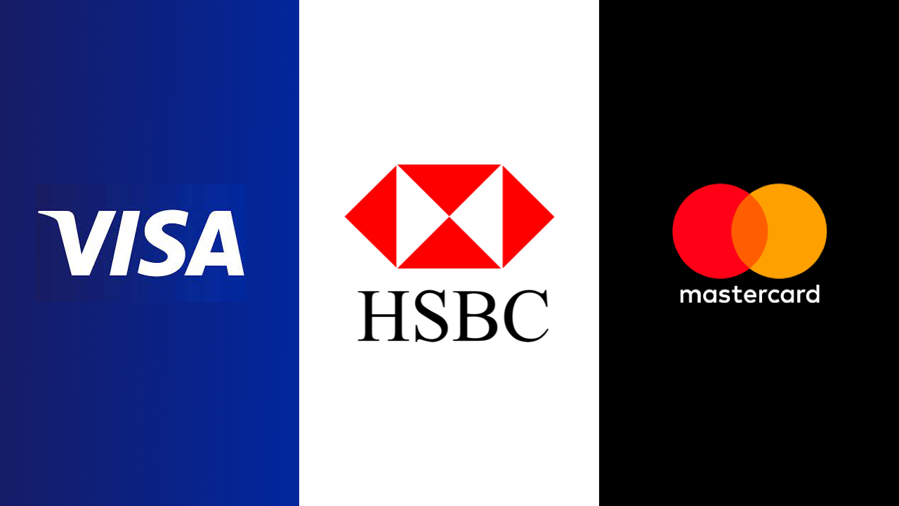 Financial Services HSBC - VISA - MasterCard